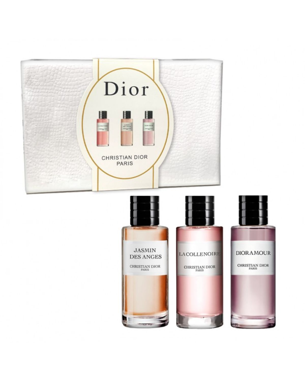 Парфюмерный набор Christian Dior Paris 3 в 1 (Jasmin Des Anges, Dioramour, La Colle Noire)