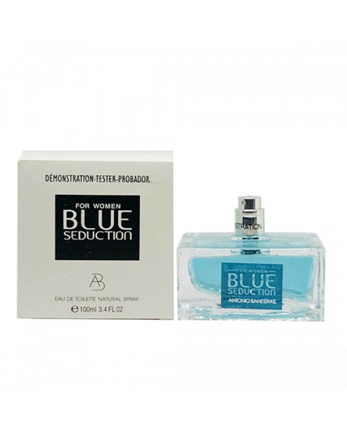Antonio Banderas Blue Seduction EDT tester женский